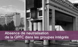 Absence de neutralisation de la QPFC dans les groupes intégrés