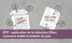BTP : réduction Fillon