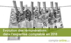 Evolution des rémunérations dans l'expertise comptable en 2018