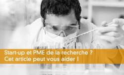 Start-up et PME de la recherche