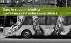 3 exemples inspirants de street marketing