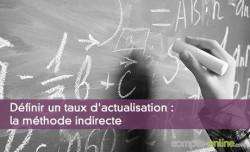 Définir un taux d'actualisation : la méthode indirecte