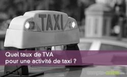 Taux de TVA pour taxi